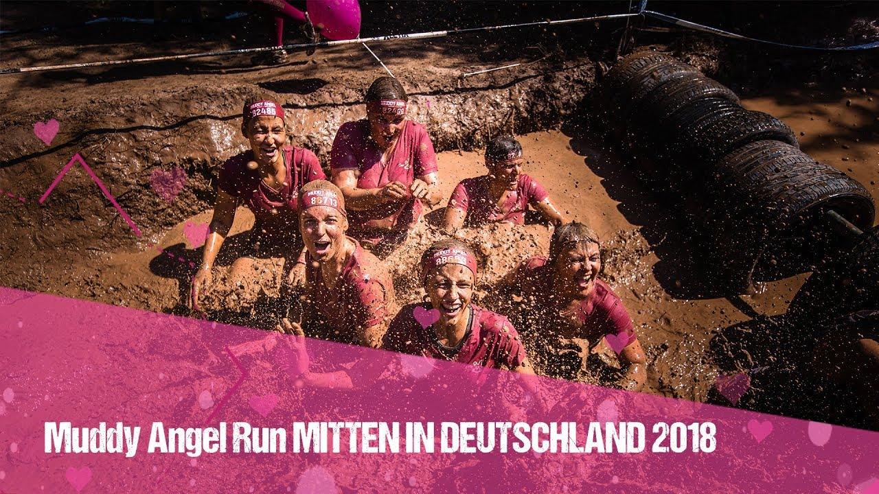 Muddy Angel Run Mitten In Deutschland 2018 Youtube