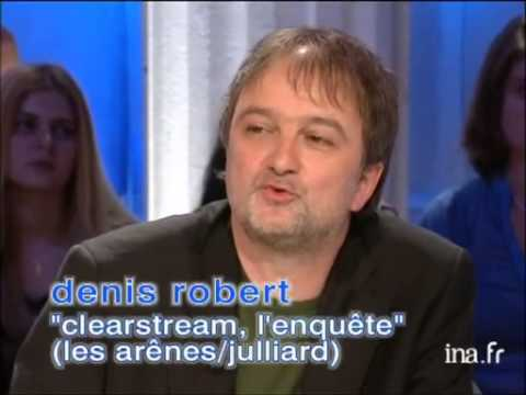 "Denis Robert ""Clearstream, l'enquête"" - Archive INA"