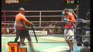 Pelea de la La Mole Moli  vs El Carnicero Diaz