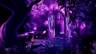 Magical Night 💜 Pure Deep Sleep Music ★ Fall Asleep Fast & Easy - music for toddlers to nap