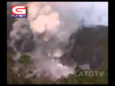 Kelud Volcano Eruption 2014   Amateur Video