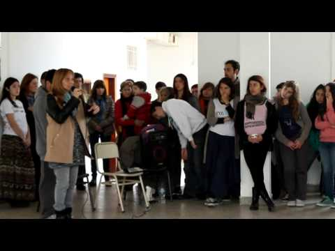 Baldosa por Piqui Sotuyo y Poro Lorenzo - Discurso del Centro de Estudiantes y Monica Sotuyo