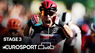 Tour de France 2020 - Stage 3 Highlights | Cycling | Eurosport