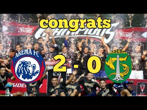 Congrats Untuk Arema| Juara Piala Presiden