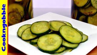 Refrigerator Dill Pickles, Homemade  (mild)