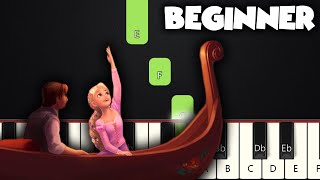 I See The Light - Tangled | BEGINNER PIANO TUTORIAL + SHEET MUSIC by Betacustic