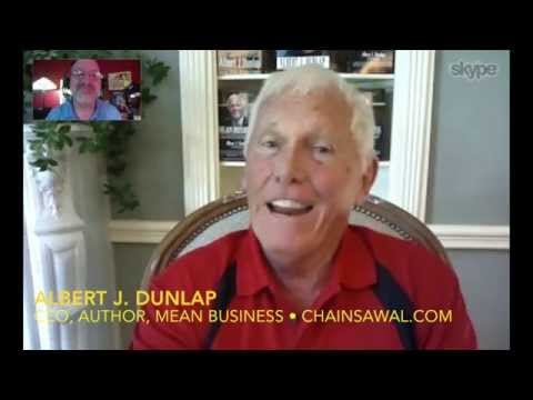 Chainsaw Al Dunlap rips through Corporate America! INTERVIEW