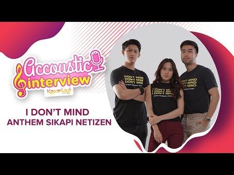#AccousticInterview - Vidi, Sheryl & Jevin Julian Bicara Tentang Netizen
