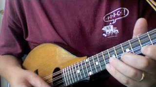 Blues Mandolin Lesson - Movable Box Pattern