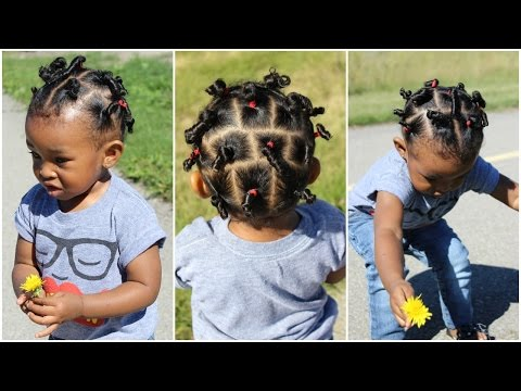 Cute Hairstyle For Kids With Short Hair Throwback Of