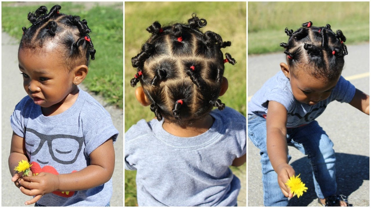 cute hairstyle for kids with short hair | throwback of sekora