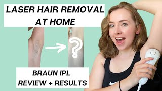 LASER HAIR REMOVAL AT HOME? IPL Review + Results (12+ Weeks): Braun Silk Expert 5