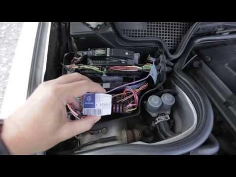 2001 e320 mercedes pse central vacuum pump ac door locks for Mercedes benz door lock problem