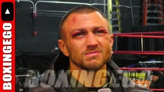 VASYL LOMACHENKO ROUGH FIGHT VS PEDRAZA FACE MARKED UP! MIKEY GARCIA? GERVONTA? ESPN NEW HBO BOXING