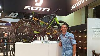 2017 Scott Electric Bikes at Interbike (E-Silence, E-Scale, E-Spark)
