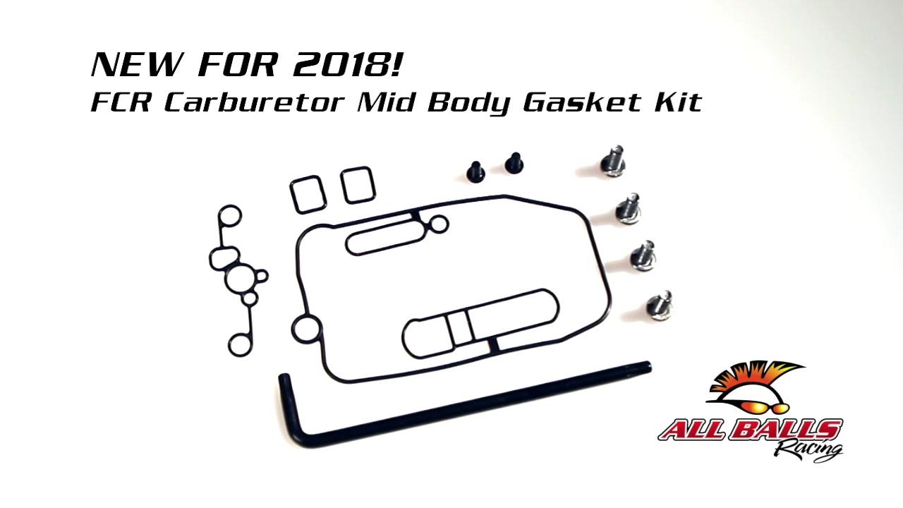All Balls Racing - FCR Carburetor Mid Body Gasket Kits