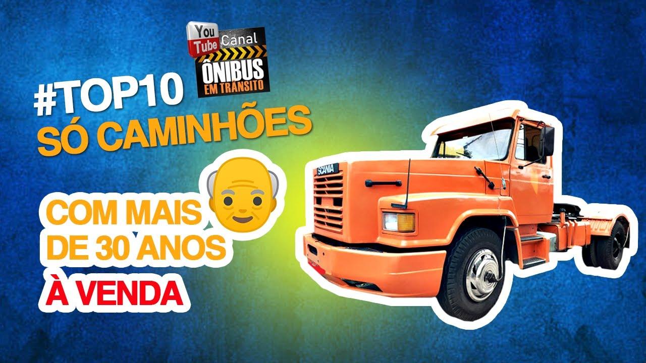 CAMINHÔES COM MAIS DE 30 ANOS A VENDA!!!!!