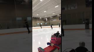 Alysa Liu's Triple Axel Side by Side with Camden Pulkinen