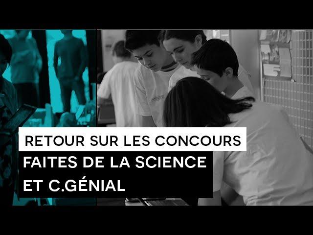 Reporters Sans Manières : Concours Faites de la Science et C.Génial