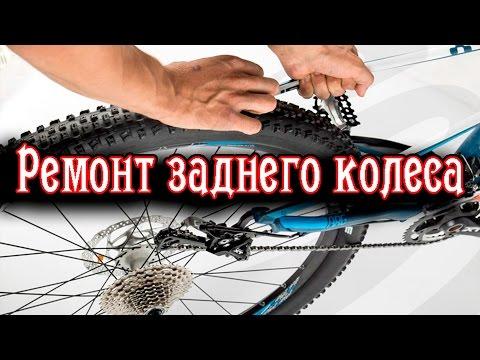Ремонт заднего колеса велосипеда [ТО втулки, Шатается кассета]