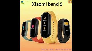 Xiaomi Mi Band 5 Vòng Tay Thông Minh 4 Màu AMOLED Màn Hình Miband 5 Đeo Thông Minh Theo Dõi Sức Khỏe