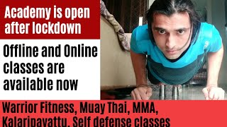 Warrior fitness motivation || Offline and online classes both are available