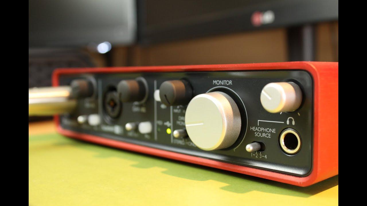 focusrite scarlett 2i4 review audio interface youtube. Black Bedroom Furniture Sets. Home Design Ideas
