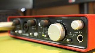 Focusrite Scarlett 2i4 Review - Audio Interface - www.Beatstruggles.com