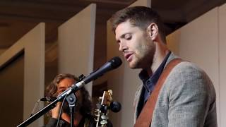 Jensen sings at Asylum 14