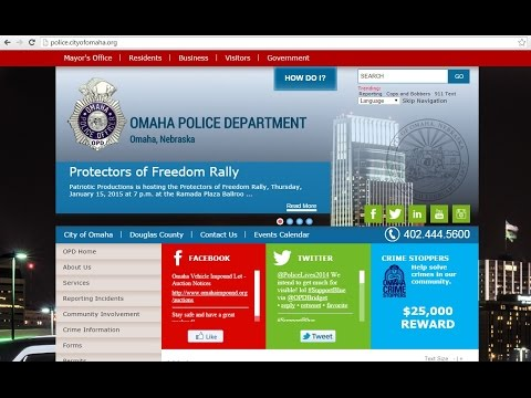 New OPD Website Story on KPTM Fox 42