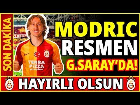Luka Modric Resmen Galatasaray'da! Yılın Transfer Bombası... Youtube