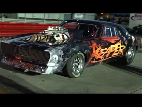 """James Goad's """"Reaper SS"""" Strong Hit At Empire Dragway New York"""