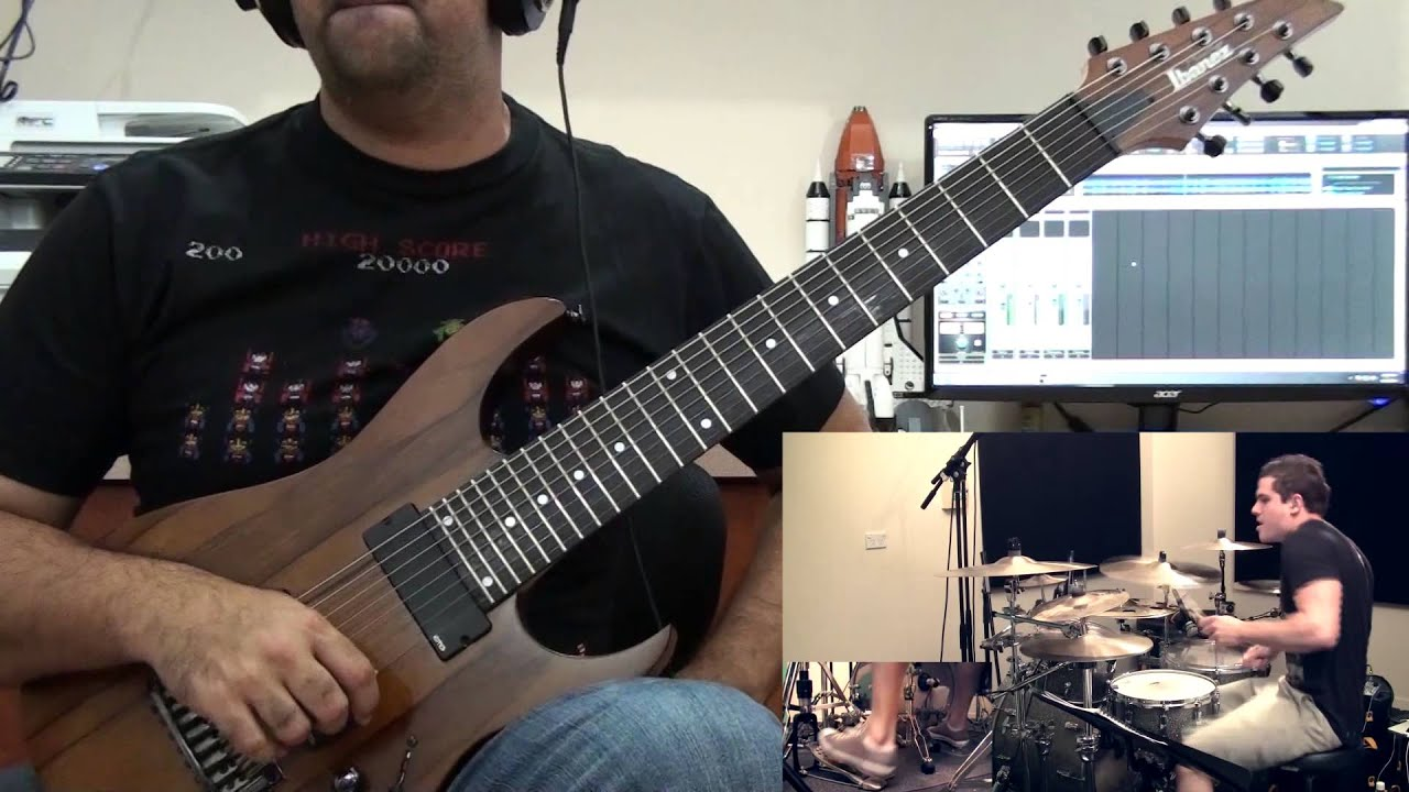 Weightless Animals As Leaders Guitar Cover By Michael Bonet Youtube
