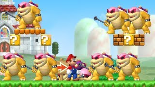 Can Mario Beat 999 Roy´s in New Super Mario Bros. Wii