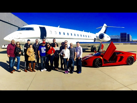 Boarding an $80M Private Jet at Million Air   PHP Agency   Money Smart Movement