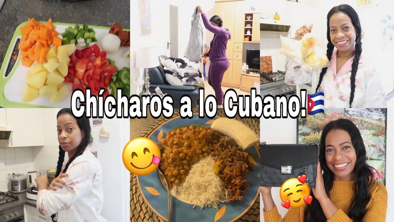 COCINAMOS Juntos CHÍCHAROS a lo CUBANO!Mi DÍA de AMA de CASA|COMO CONGELAR FRUTAS? |Vlog Alemania