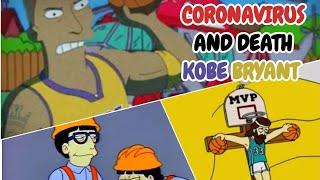 I Simpson hanno previsto la morte di Kobe Bryant e il Coronavirus