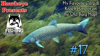 Russian Fishing 4 | #17 - My Favorite Carp & Roach Hotspot on the Old Burg Map!