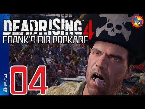 Let's Play Dead Rising 4: Frank's Big Package | PS4 Walkthrough | Gameplay Part 4 (P+J)