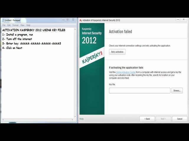 kaspersky 2011 activation code free download