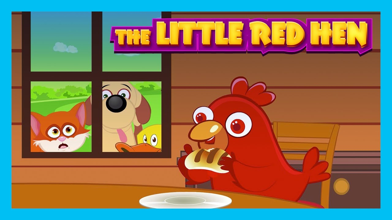 the little red hen story for kids english stories kids hut