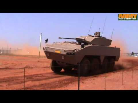 Badger Denel 8x8 armoured infantry fighting vehicle South Africa  army defense industry military tec