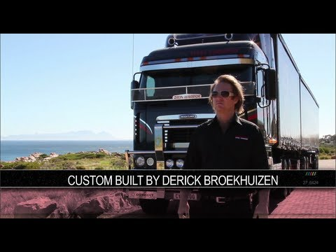 "Argosy Freightliner with 6"" Straight Pipes 