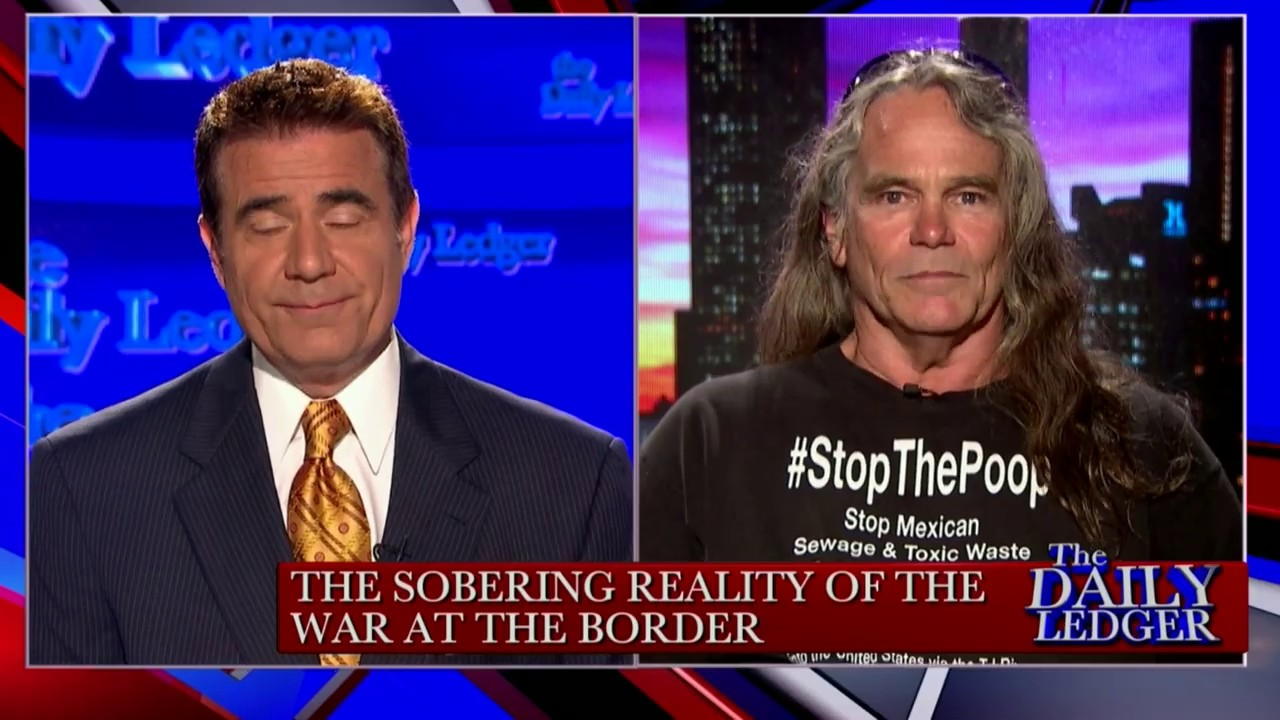 OAN - Founder of 'Stop the Poop' Baron Partlow on the Sewage Crisis at the Border