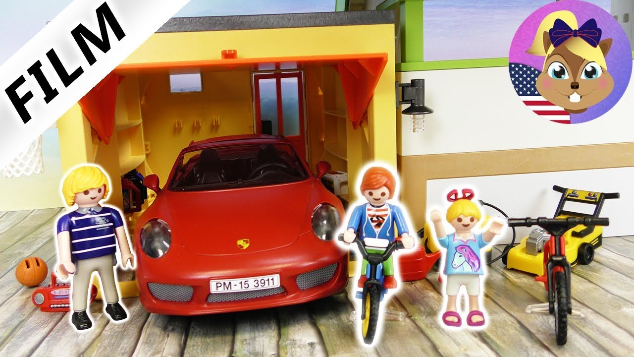 Playmobil Film English The New Garage For The Luxury Villa With