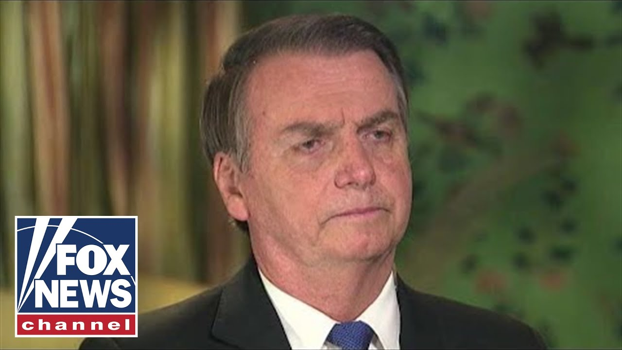 Brazil's President Bolsonaro on socialism, trade and Trump