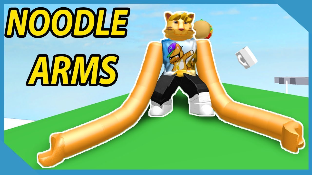 Roblox But With Noodle Arms Youtube