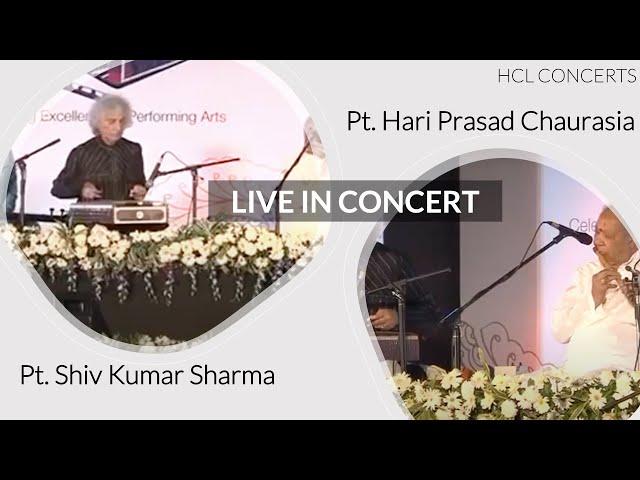 Pt. Shivkumar Sharma & Hariprasad Chaurasia | HCL Concerts | Shiv-Hari