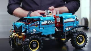 LEGO Technic 42070 6x6 All Terrain Tow Truck - Designer Video thumbnail