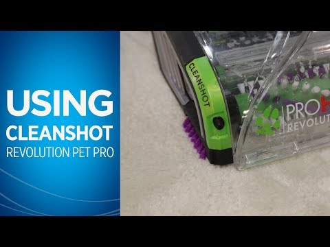 How to use Cleanshot on theProHeat 2X® Revolution™ Pet Pro Carpet Cleaner | BISSELL
